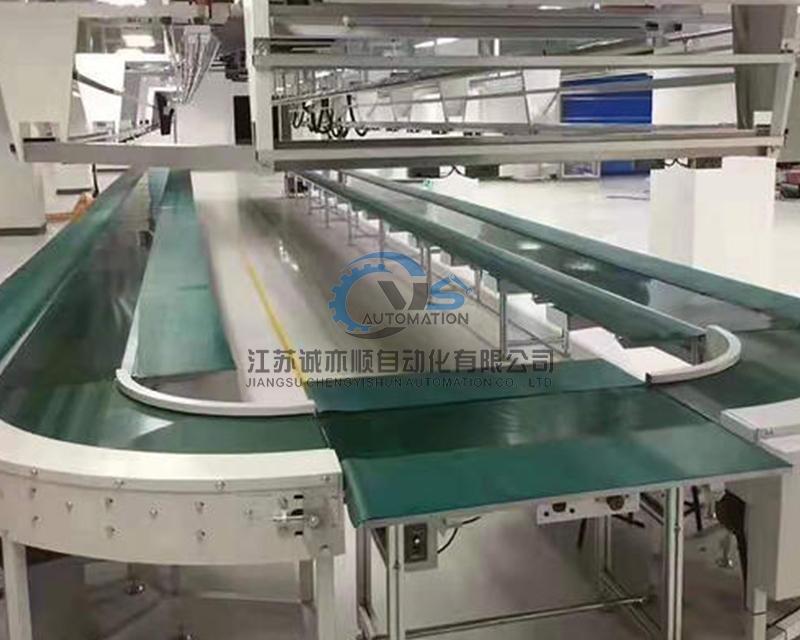 皮带流水装配线