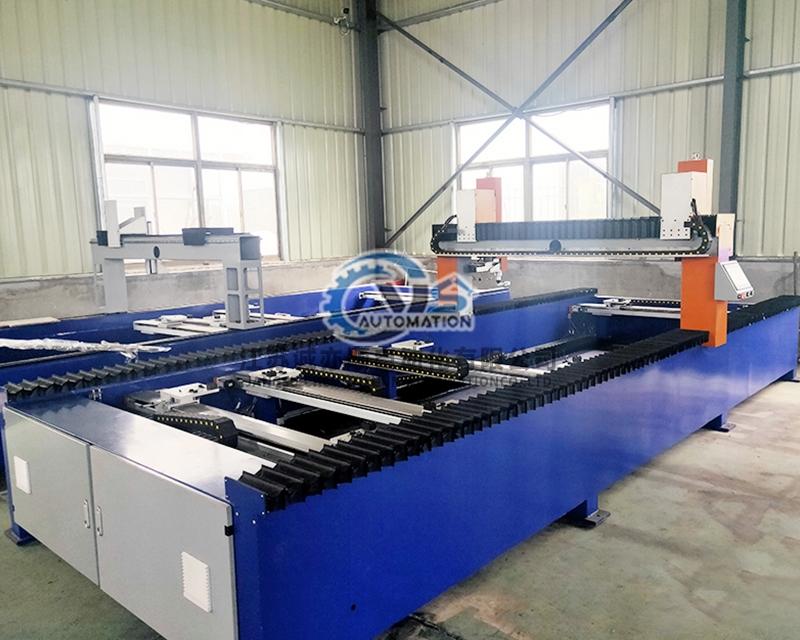 角铁法兰自动焊接设备
